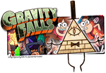 Commission: Gravity Falls Journal Banner by Aletheiia90