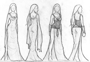Norse Princess dress spheres by baybee-snayx