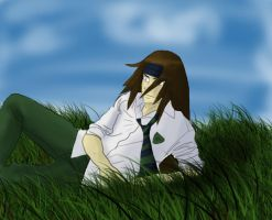 AU-Neji relaxing by drummerchick13
