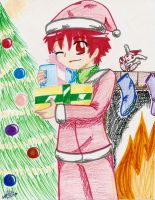 Dai says: Merry XMas and HNY by Rei-Catlang