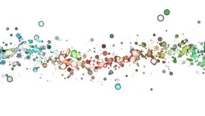Colorful Bubbles PNG. by Feary-Bad-Day