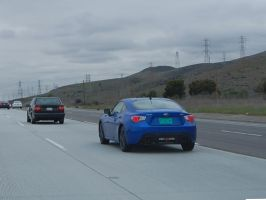 The future 2013 Subaru BRZ directly ahead by Partywave