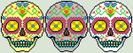 Sugar Skull Colors by Maple-Girl