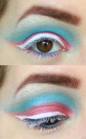[Pride Flag Challenge] Transgender by MakeupByFae