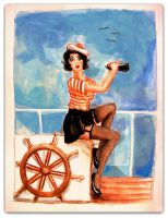 Pin-up Girl by elicenia
