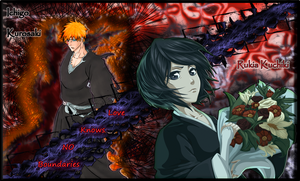 Ichigo x Rukia Wallpaper by MetalPorSiempre