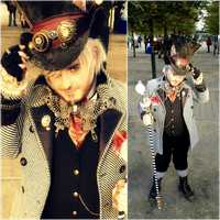 Steampunk Mad Hatter by cammykillerbee