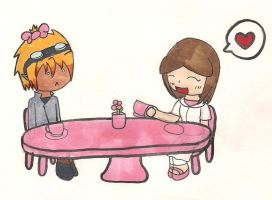 Tea party with Geisty by megrim96