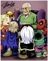 Stan Lee Foundation Exclusive by artistjerrybennett