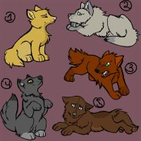 Adoptable Puppies -OPEN- by SilverDragon2050