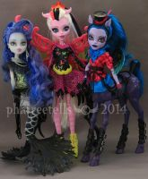 Monster High Freaky Fusion Sirena Bonita Avea by phairee004