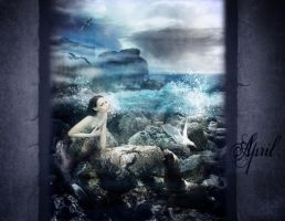 April_The Selkie by CearaFinn