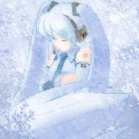 Snow Miku by Ayinai
