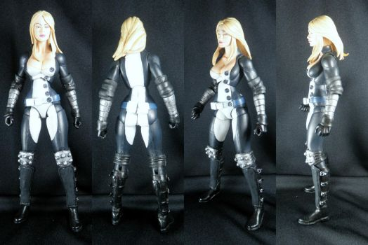 Mockingbird- Marvel Legends- Secret Santa by BDCdiesel