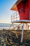 Old Lifeguard Stand by Maiella
