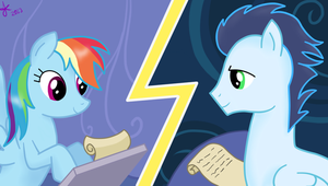 Pen Pals with a Wonderbolt by Ojos-Color-Bosque