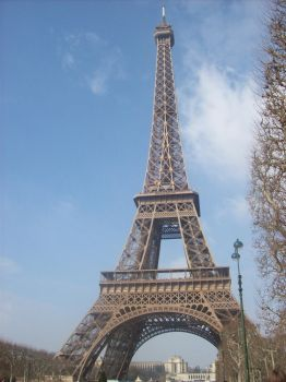 Eiffel Tower - 1 by Spikeasaur