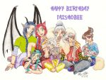 2011 Happy Birthday TaishoBee by Tsuna-Draken