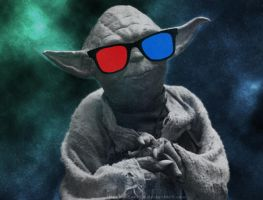Yoda by theclumsyninja