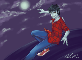 Marshall Lee by angelickandy