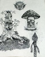 Sketches Done In Hell 5 by Boggleboy