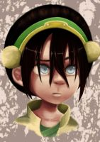 Avatar: Toph Portrait by kaiyuan