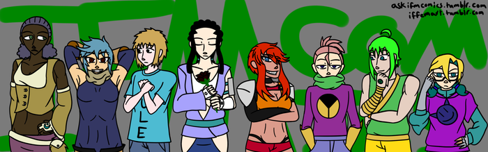 Main Characters by IFMComics