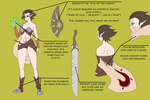 Nereide Reference sheet 2013 by theMuesLee