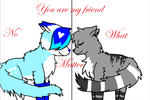 You are my friend by xxRoxas-KeyofDestiny