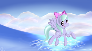 Flitter Flight by kawaiipony2