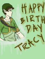 Tracy the Elf by Ashelectric