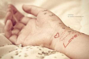 To Write Love on Her Arms by C4M30