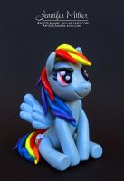Rainbow Dash Figurine by ArteDiAmore