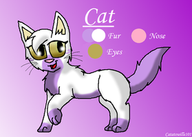 Cat - Reference Sheet 2012 by Catatouille101