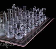 Chess Pieces on Chess Board by brish08