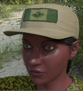 KittyBrown Cargo for Antonia WM  hat with hair by AnWivu