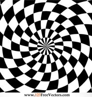 Optical Illusions Vector by 123freevectors