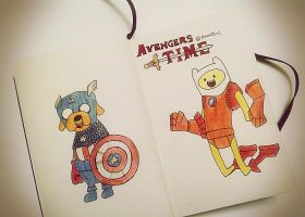 Avengers Time by AyanamiHound