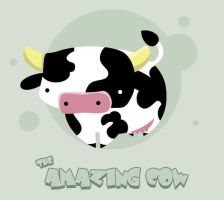 The Amazing Cow by SquidPig