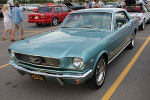 Metallic Blue Mustang by KyleAndTheClassics