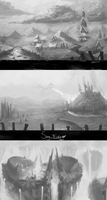 Value Studies by JoshuaNel