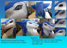 Sergal Head finished! by Dingz