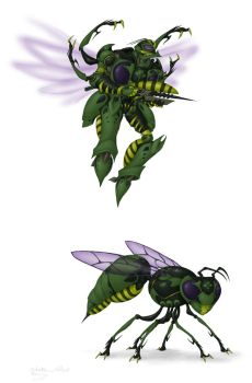 Waspinator by Owl-Robot