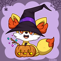 HAPPY HALLOWEEN! by ohkoko
