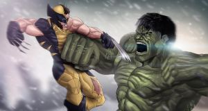 Clash of the Titans by Niyoarts