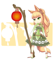 Flower Fennec Adopt Giveaway CLOSED by Oma-Chi
