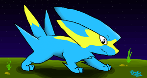 iScribble - Shiny Electrike by Zipo-Chan