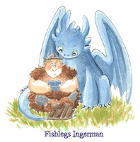 Httyd-Fishlegs by 4leafcolour