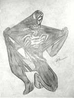Spidey vs. Symbiote.. by GreenMind-Dead