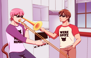 When Tetsu Isn't Home... by AquaJet